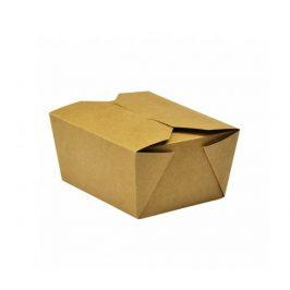Papírový kraft box 700ml - 11x9x6,5cm (225ks)