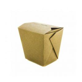 Papírový kraft box na nudle 900ml - 18x13x5cm (400ks)
