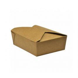 Papírový kraft box 1050ml - 15x12x5cm (150ks)