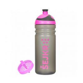 Zdravá lahev Šejkr - růžový 0,7l R&B Mědílek