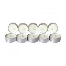 Čajové svíčky ze sojového vosku 10ks - bez vůně Aromka