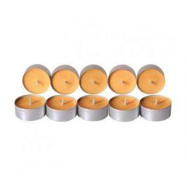 Čajové svíčky ze sojového vosku 10ks - květiny Aromka