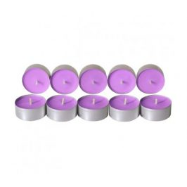 Čajové svíčky ze sojového vosku 10ks - levandule Aromka