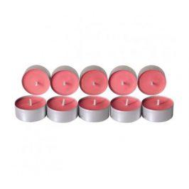 Čajové svíčky ze sojového vosku 10ks - višeň Aromka