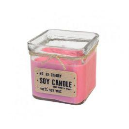 Svíčka ze sojového vosku kostka 240ml - višeň Aromka