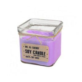 Svíčka ze sojového vosku kostka 240ml - levandule Aromka