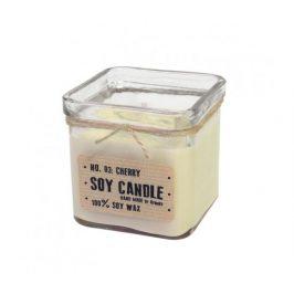 Svíčka ze sojového vosku kostka 240ml - čisté prádlo Aromka