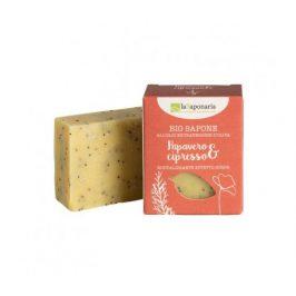 laSaponaria Tuhé olivové mýdlo BIO - Mák a cypřiš 100g