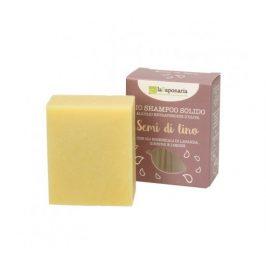 laSaponaria Tuhý šampon se lněným olejem BIO 100g