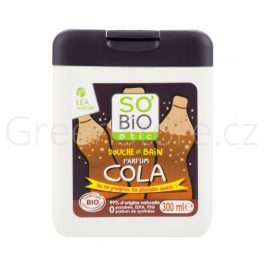 BIO Sprchový a koupelový gel pro děti Cola 300ml SO´BIO