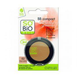 BIO BB korektor 02 béžová střední 3,8g SO´BIO