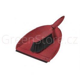 Ekologický smetáček s lopatkou červený Greener Cleaner