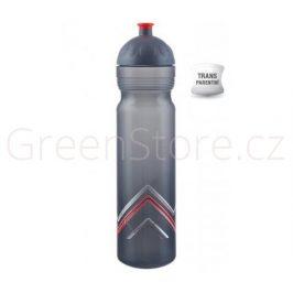Zdravá lahev Bike Hory - červená 1l R&B Mědílek + špuntík zdarma