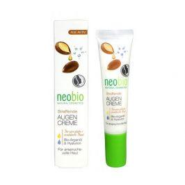 Neobio Oční krém proti vráskám Bio Arganový olej & Hyaluron 15ml