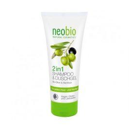 2v1 Šampon & Sprchový gel Bio Oliva & Bambus 200ml Neobio