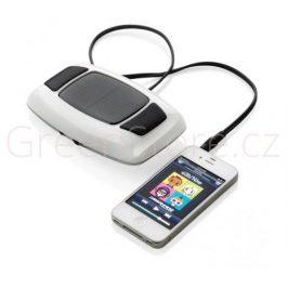 XD Design Solární nabíječka s reproduktory, 800mAh