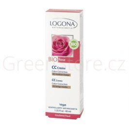 CC Krém Bio Růže No.02 středně béžová 40ml Logona