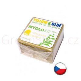 Olivové mýdlo s citronovým extraktem na skvrny 200g Yellow & Blue