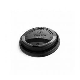 CPLA Černé víčko pro kelímky 240ml (50ks) Eco Cups