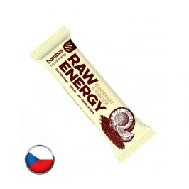 Bombus Raw energy tyčinka Coconut & Cocoa 50g