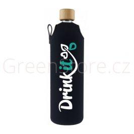 Skleněná láhev s obalem Klasik 700ml Drink it