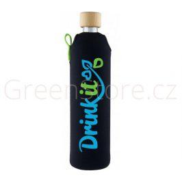 Skleněná láhev s obalem Sportit 500ml Drink it