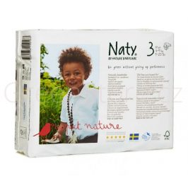 Eko plenky vel.3 (4-9kg) 30ks Naty Nature