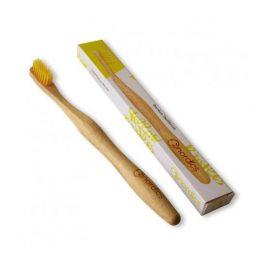 Nordics Bambusový zubní kartáček - žlutý