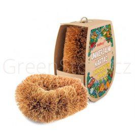 Přírodní kartáč z kokosových vláken Wolfberry - větší