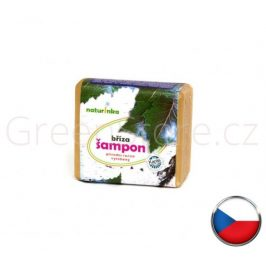 Přírodní březový šampon 45g Naturinka
