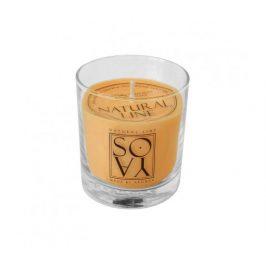 Svíčka ze sojového vosku 200ml - květiny Aromka