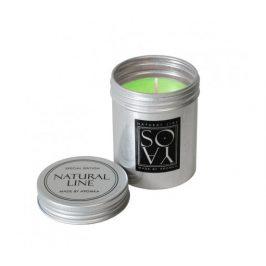 Svíčka ze sojového vosku v plechovce 100g - mango Aromka