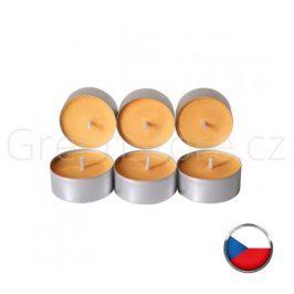 Čajové svíčky ze sojového vosku 6ks - květiny Aromka - DOPRODEJ 1bal