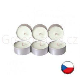Čajové svíčky ze sojového vosku 6ks - bez vůně Aromka - DOPRODEJ 4 balení