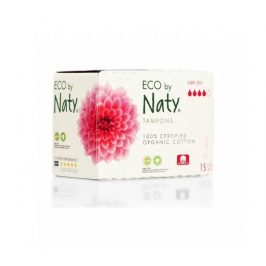 Tampony super plus 15ks Naty Nature