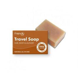 Friendly Soap přírodní mýdlo na tělo i vlasy na cestování 95g