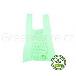 BIO taška rozložitelná - green 27x16x50cm (500ks)