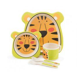 Zopa 5 dílná dětská jídelní sada - tygr