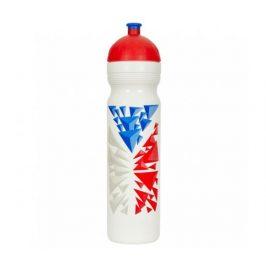 Zdravá lahev Vlajka 1,0l R&B Mědílek + špuntík zdarma