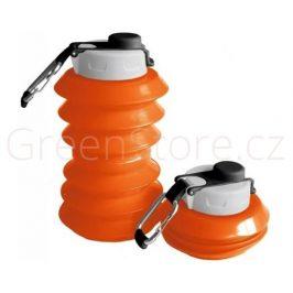 Skládací lahev Ohyo 1000ml - oranžová
