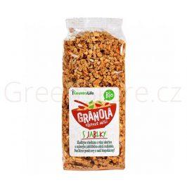 Granola - Křupavé müsli s jablky 350g BIO Country Life