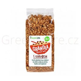 Granola - Křupavé müsli s karobem 350g BIO Country Life