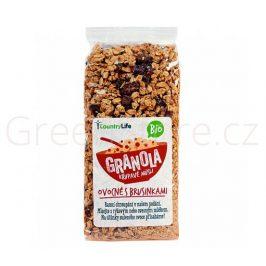 Granola - Křupavé müsli ovocné s brusinkami 350g BIO Country Life