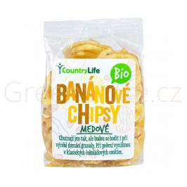Banánové chipsy medové 100g BIO Country Life