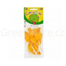 Lízátka s příchutí citronu bezlepková 7x10g BIO CANDY TREE