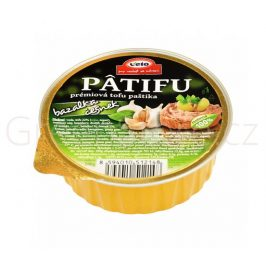 Paštika PATIFU bazalka a česnek 100g VETO ECO