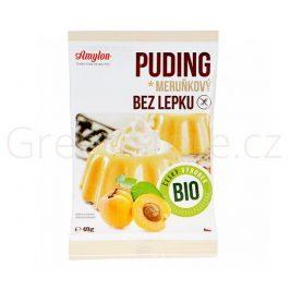 Puding meruňkový s kousky ovoce bezlepkový 40g BIO AMYLON