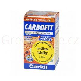 CARBOFIT aktivní rostlinné uhlí tobolky 15g DACOM