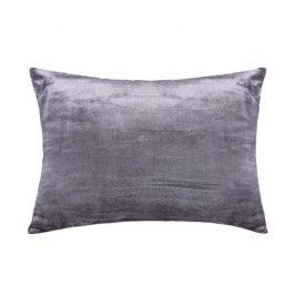 XPOSE ® Mikroplyšový povlak na polštář - tmavě šedá 50x70 cm