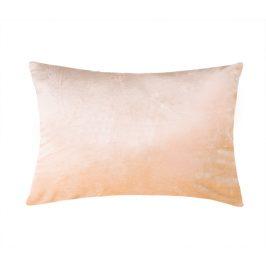 XPOSE ® Mikroplyšový povlak na polštář - béžová 50x70 cm
